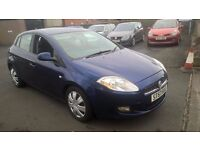 BARGAIN 2007 57 REG NEW SHAPE FIAT BRAVO 1.4 YEARS MOT CHEAPER PX WELCOME £1095
