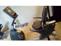 Horizon Comfort 408 Recumbent Cycle Gym Fitness Excelent Condition