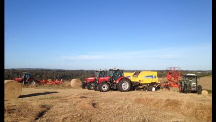 Hay Contracting Silage Round Small Square  Lang Lang Cardinia Area Preview