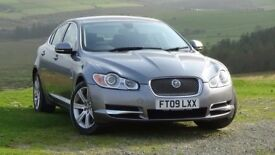 JAGUAR XF 3.0 V6 D LUXURY AUTO with Paddle Sport option 42 - 47 MPG - Lifetime garaged Superb drive