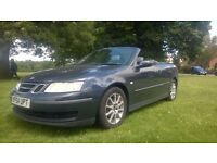 **12 MONTHS MOT** 2004 SAAB 9-3 2.0T LINEAR 2 DOOR CONVERTIBLE **GOOD HISTORY+RECENT SERVICE**