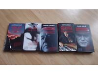SET OF 5 CRIME BOOKS