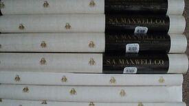 5 x unopened rolls of wallpaper