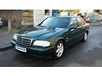 MERCEDES C250 SPORT TURBODIESEL AUTOMATIC 5 SPEED LOW MILEAGE