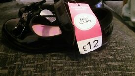 girls school shoes size 12