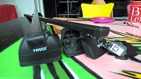 Thule roof bars for integral roof rails. Product number 753/460.