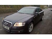 "Audi A6 C6 Saloon-Long MOT-NEW TIRES-19"" Wheels-94500 miles"