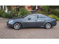 Mercedes cls, low mileage, sun roof, leather, beautiful example of a great car!