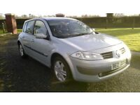 2004 RENAULT MEGANE 1.5 diesel FULL YEAR MOT DRIVING 100% only £30 a year road tax