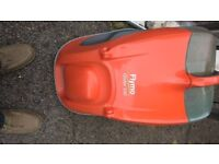 FLYMO GLIDER 330 GRASS CUTTER IN VERY GOOD USED CONDITION