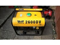 Wolf 2600 Petrol Generator