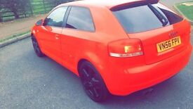 Audi A3 TFSI S-Line Facelift Model Special Edition 2.0 Petrol / swap