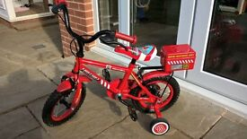 "Kids Apollo 12"" Firechief bike"