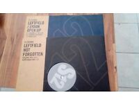 Leftfield x2 vinyl. Not forgotten & Open up