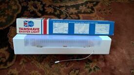 Shaver wall mounted unit 60W fluorescent including built in Charger