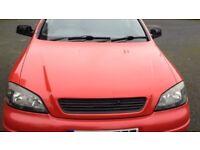 02 plate Vauxhall Astra 1.6 sxi mot April