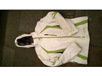 ski/snowboarding jacket. ladies size 12. in good condition, only used for 5 days.