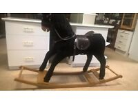 vintage large rocking horse excellent condition delivery available