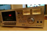 Akai CS-702 D2,Stereo Cassette Deck, vintage, classic, rare