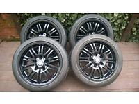 BMW - 17inch - alloy wheels and tyres