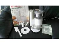Moulinex blender. Box and attachments £8