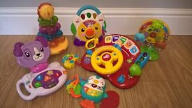 Various electronic baby toys