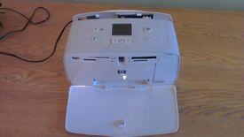 HP Photosmart 335 digital photo inkjet printer and pack of 6x4 photopaper