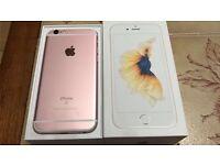 Apple iPhone 6s 16GB Rose Gold Unlocked (Like New)