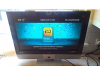 Bush 26 inch lcd hd tv with built in Freeview,perfect working order