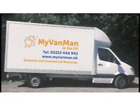 Removals man with a van Manchester area