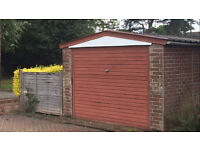 Concrete Sectional Garage - FREE