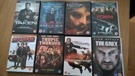 Assortment of DVD's pack 1