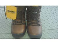Dewalt Demolition safety boots size 10
