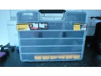 black storage cases brand new with inserts