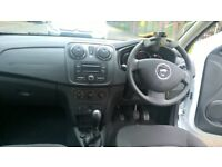 Dacia Sandero Ambiance DCI, white, 3000 miles, Bluetooth
