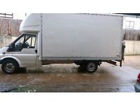 Ford Transit Luton Van Tail Lift Very good condition new injector pump just installed.