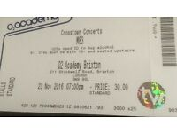 1 x Ticket for M83 at Brixton Academy, London - Wed 23rd November. £35 face value!