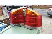 Vauxhall back lights