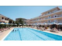 4* Holiday for 4 to Zante, 10 nights, July Flights