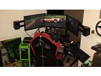 Full Racing Simulator and ROG PC Entertainment/Office System (HIGH SPECIFICATION)