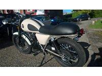 Custom Cafe Racer 125cc NEW