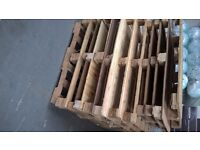 Free pallets not euro pallets use for diy or firewood free collection delivery for a fee local only