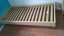 IKEA single bed and matching mattress