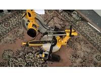 JCB 1600W 240V 210mm Sliding Compound Mitre Saw SCMS255