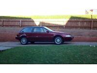 Volvo 480 GT. 1994. burgendy Red. 12month MOT.