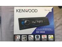 Kenwood KDC-200UB Car Stereo £40
