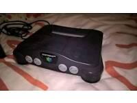 retro games console Nintendo 64