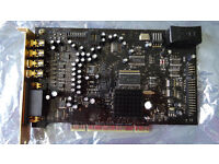 Creative Labs Soundblaster X-Fi Xtreme Gamer Fatal1ty Pro PCI sound card SB0460