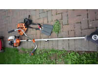 Timberpro 52cc brush cutter with harness Spares or Repair