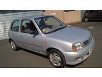 2002 NISSAN MICRA LONG MOT LOW MILES CHEAP TO RUN PX WELCOME